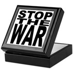 Stop The War Keepsake Box