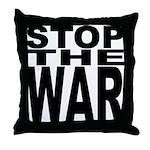 Stop The War Throw Pillow