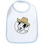 Cowboy Poppy Bib