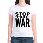 Stop The War Jr. Ringer T-Shirt