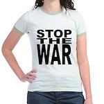 Stop The War Jr. Ringer T-Shirt