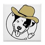 Cowboy Poppy Tile Coaster