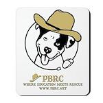 Cowboy Poppy Mousepad