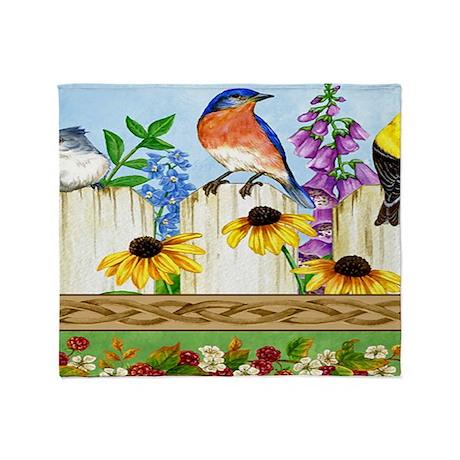 Beautiful birds Throw Blanket