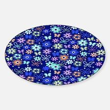 brown-all-a-flutter copyi Sticker (Oval)