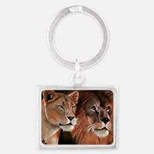 Beauty and the Beast lfp 2 Landscape Keychain