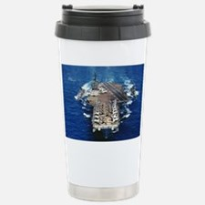 khawk cv lare framed print Travel Mug