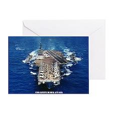 khawk cv lare framed print Greeting Card