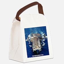 khawk cv framed panel print Canvas Lunch Bag