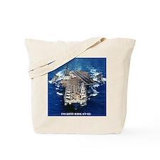 khawk cv framed panel print Tote Bag