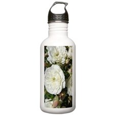 Yummy White Roses Water Bottle