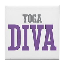Yoga DIVA Tile Coaster