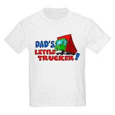 Dad's Little Trucker T-Shirt