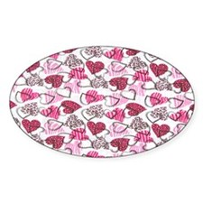 Allover Valentine Hearts copyy Decal