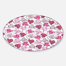 Allover Valentine Hearts copyy Decal