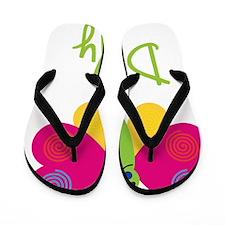 Dolly-the-butterfly Flip Flops