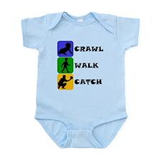 Crawl Walk Catch Body Suit