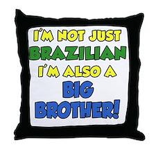 Brazilian Big Brother Throw Pillow