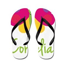 Cornelia-the-butterfly Flip Flops