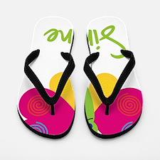 Simone-the-butterfly Flip Flops