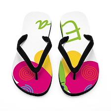 Eliza-the-butterfly Flip Flops