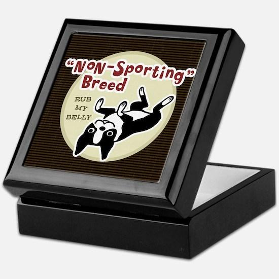 bostonnonsportingwallet Keepsake Box