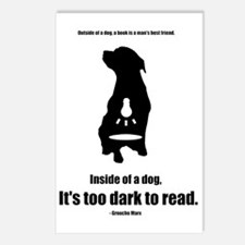 Inside of a Dog Design Postcards (Package of 8)
