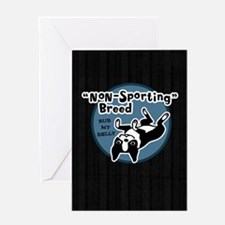 bostonnonsportipad Greeting Card