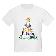 Joy Love Christmas T-Shirt