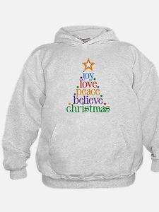 Joy Love Christmas Hoodie