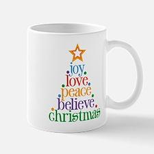 Joy Love Christmas Mug