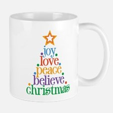 Joy Love Christmas Small Small Mug