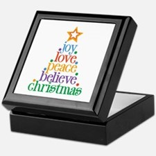 Joy Love Christmas Keepsake Box