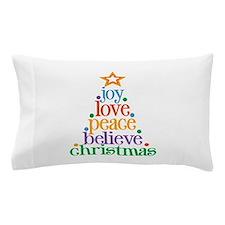 Joy Love Christmas Pillow Case