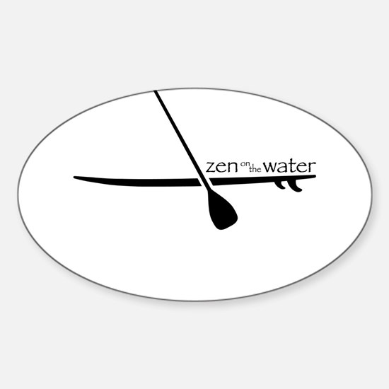 Zen on the Water Decal