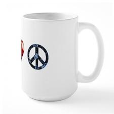peace love spn mirror Mug