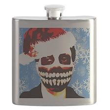 Monster Christmas Flask