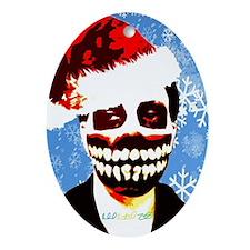 Monster Christmas Oval Ornament