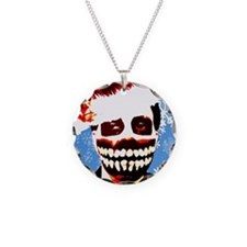 Monster Christmas Necklace