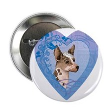"orchid-heart 2.25"" Button"