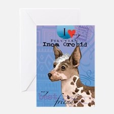 orchid-iPad Greeting Card