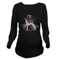 orchid T1-K Long Sleeve Maternity T-Shirt