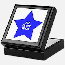 AJ Is My Idol Keepsake Box