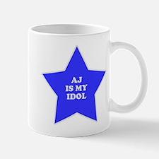 AJ Is My Idol Mug