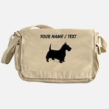 Custom Scottish Terrier Messenger Bag