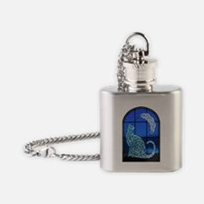 sgCatMirror2 Flask Necklace