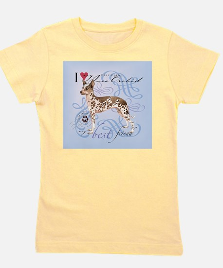 orchid-tile Girl's Tee