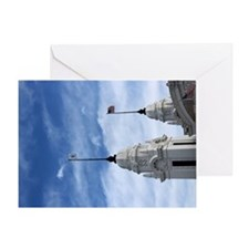 Union Station in Worcester Massachus Greeting Card