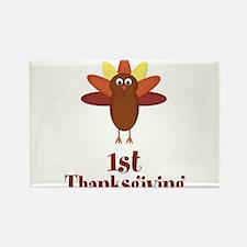 First Thanksgiving Turkey Magnets