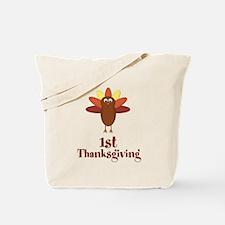 First Thanksgiving Turkey Tote Bag